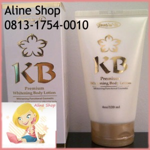 kb premium whitening body lotion