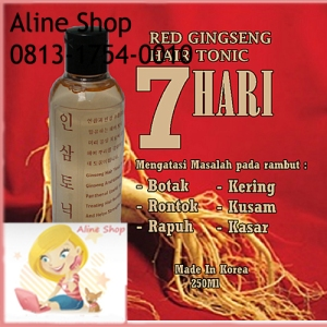 Red Gingseng Hair Tonic
