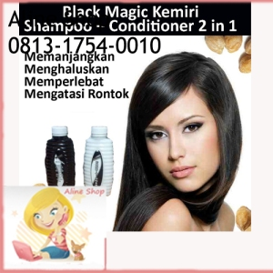 Black Magic Kemiri Shampoo 2 In 1